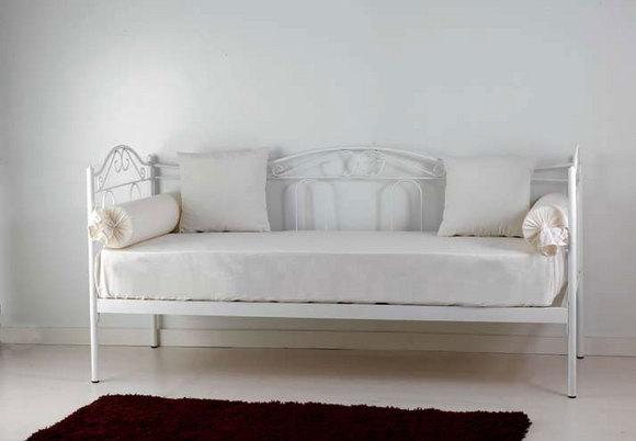 Divano letto flora vendita on line di letti in ferro battuto matrimoniali letti singoli ad - Divano letto singolo in ferro battuto ...