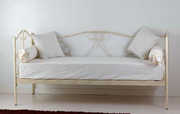 Divano letto gloria vendita on line di letti in ferro for Divano letto in ferro battuto ikea
