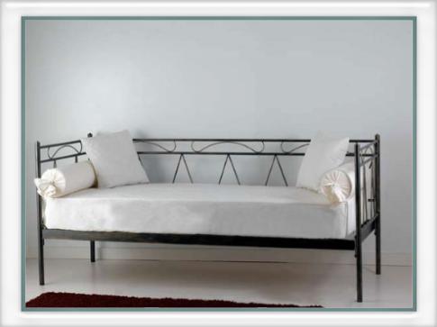 Divano letto mozart vendita on line di letti in ferro - Divano letto smontabile ...