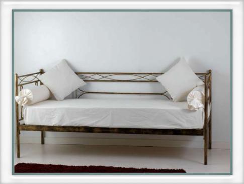 Divano letto penelope vendita on line di letti in ferro - Divano letto smontabile ...